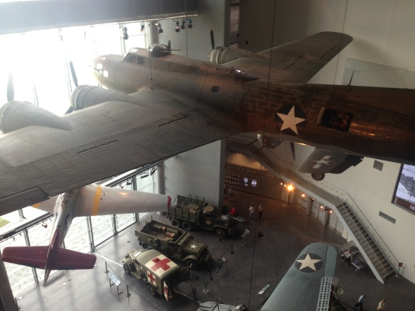 At the WW2 Museum