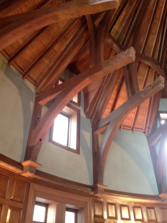 Beautiful woodwork at the Ogden