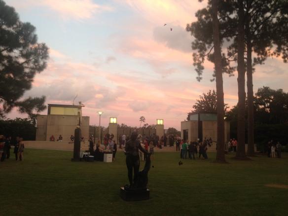 Reception at the Besthoff Sculpture Garden