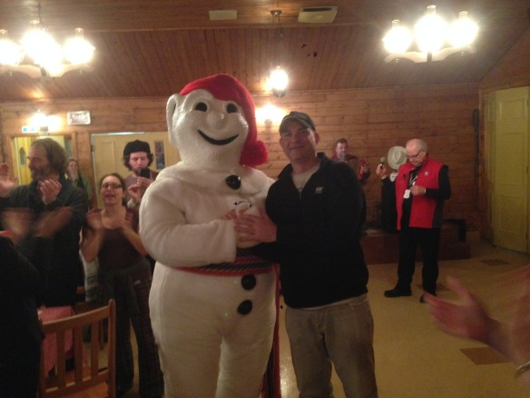 Me and Bonhomme are tight like that.